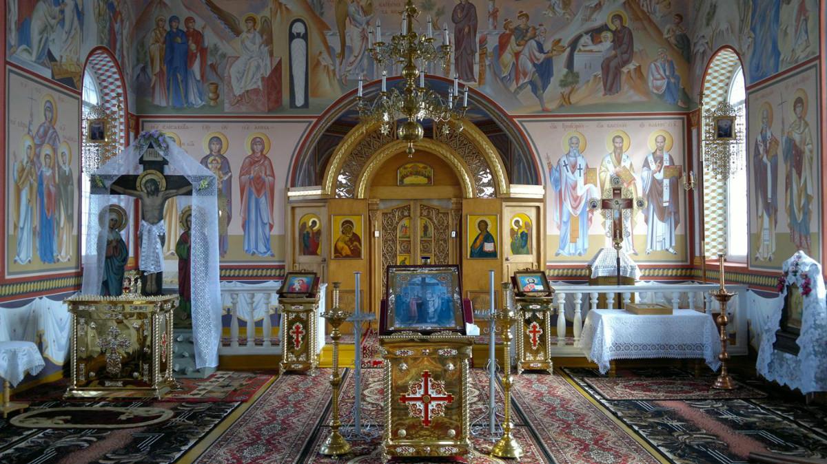 Poświęcenie cerkwi w Andryjankach